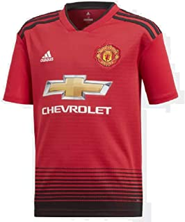 adidas Kid's Manchester United Home Jersey 2018/2019