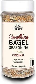 Everything Bagel Seasoning Blend - Bagel Allspice, Sesame Seasoning Spice Shaker, Delicious Blend of Sea Salt & Spices, Garlic Powder, Onion Flakes, Multi Seasoning Jar, Keto & Gluten Free Facility