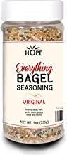 Everything Bagel Seasoning Blend - Bagel Allspice, Sesame Seasoning Spice Shaker, Delicious Blend of Sea Salt & Spices, Garlic Powder, Onion Flakes, Multi Seasoning Jar, Keto & Gluten Free Facility