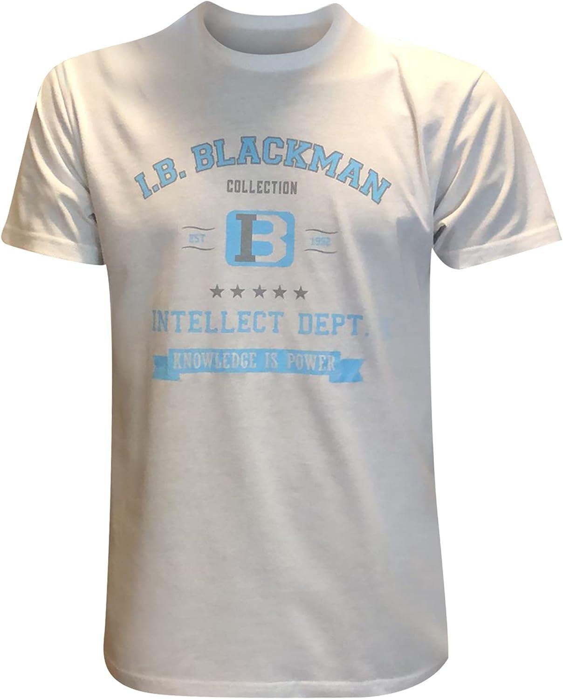 IB 新色追加して再販 Blackman Collection Men's 格安 価格でご提供いたします Short Sleeve Intellect T-Shirt