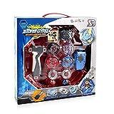 DrafTor 4D Be Fusion Modell Metal Masters Beschleunigungswerfer Geschwindigkeit Gyro mit Base Arena Blade Kinder Kinder Spielzeug -