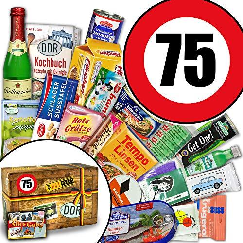 Ostpaket / 75 Geburtstag / Geschenk Box Oma / Spezialitäten Korb