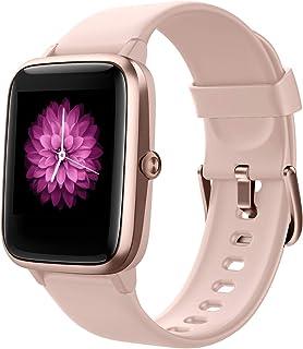 Reloj Inteligente Mujer,Smartwatch Hombre Impermeable IP68 Pulsera Actividad 1.3 Pulgada con Monitor de Ritmo cardíaco, Po...
