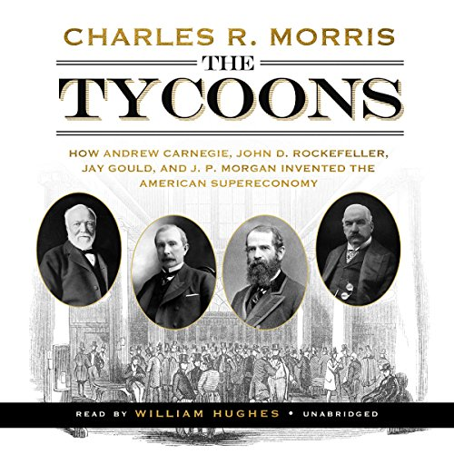 The Tycoons audiobook cover art