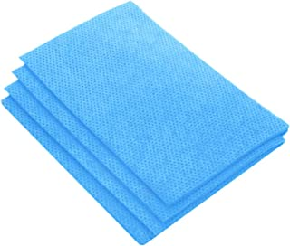 JEBBLAS Heavy-Duty Multi-Surface Cleaning Wipes Reusable Cloths 25 Count/Pack,Blue