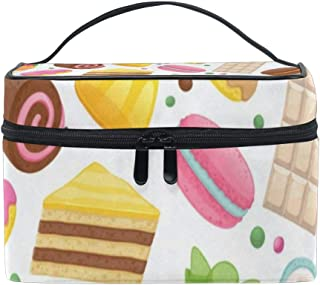 Makeup Bag Cute Candy Dessert Chocolate Cake Girls Travel Cosmetic Bag Womens Toiletry Organizer
