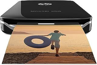 HP 200874 Sprocket Plus - Impresora fotográfica portátil (tecnología de impresión Zink Bluetooth fotos  5.8 x 8.6 cm) negro