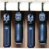 Safety Storage - Safety Solutions for Gun Storage Pack of 4 Original Pistol Handgun Hangers (Hand Made in USA) (4 Hangers)