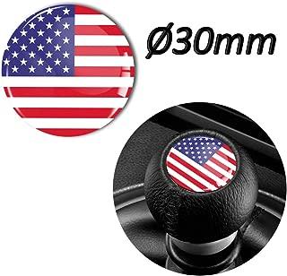 1 x 3D Sticker for Shift Lever Gear Knob JDM S 63