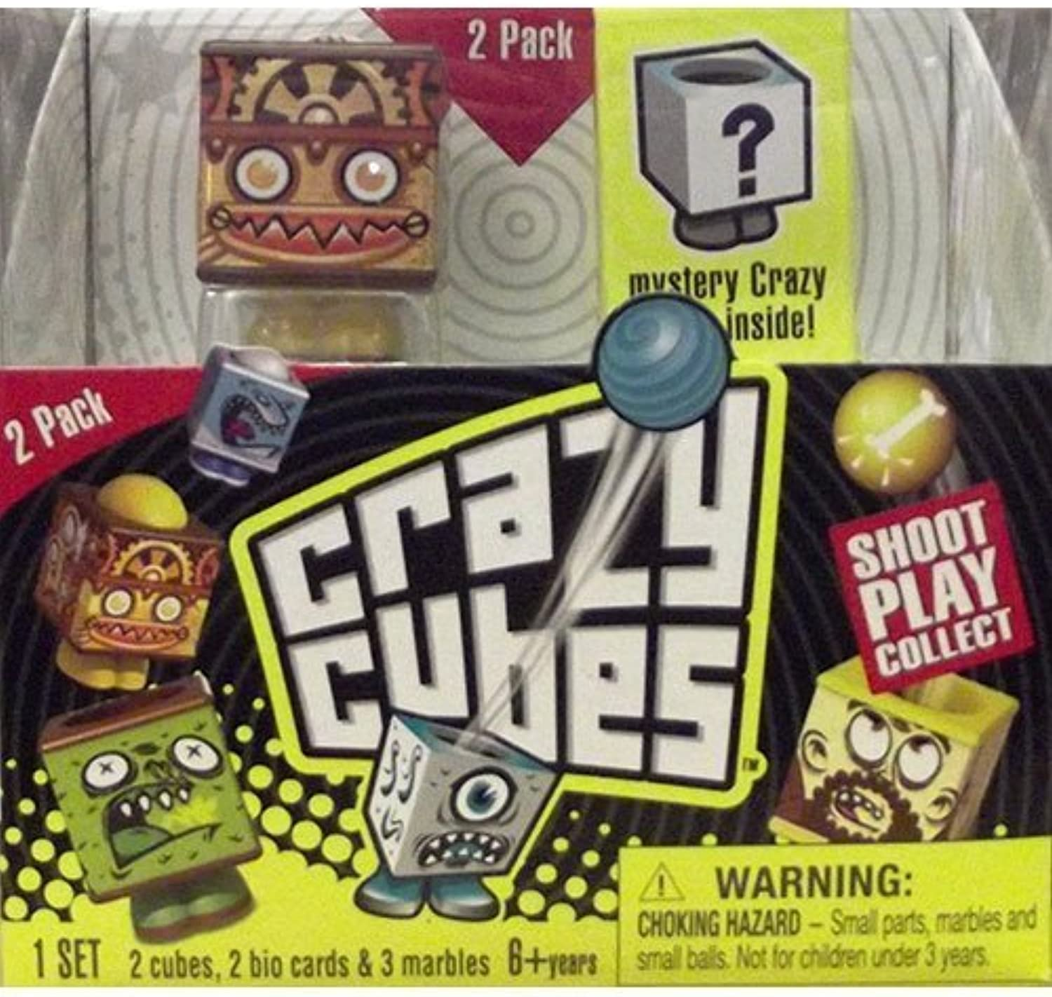 Crazy Cube 2pk by Crazy Cubes