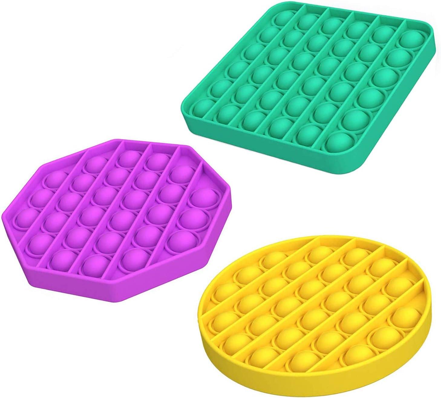 Push Pop Bubble Sensory Fidget Louisville-Jefferson County Mall Toy STEM Set Max 71% OFF - Anxiety Ite Relief