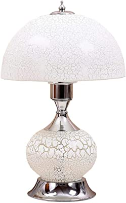 3 Way Touch Lamp White Color Table Lamps Amazon Com