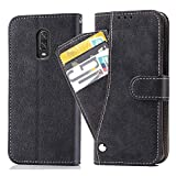 Asuwish Oneplus 7/6T Wallet Case,Luxury Leather Phone Cases with...