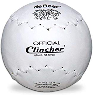"deBeer 12"" Regular Clincher Softballs 12pk (1 Dozen) …"