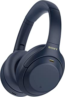 Sony WH-1000XM4 Wireless Bluetooth Over The Ear Headphone with Mic (Blue)
