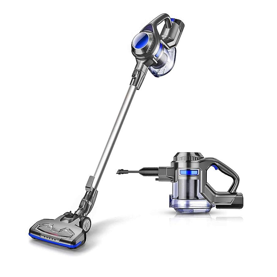 MOOSOO Cordless Vacuum Powerful Suction 10Kpa 2 in 1 Stick Handheld Vacuum Cleaner for Home Hard Floor Carpet Car Pet - XL-618A, Lightweight
