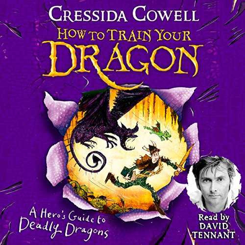 A Hero's Guide to Deadly Dragons audiobook cover art