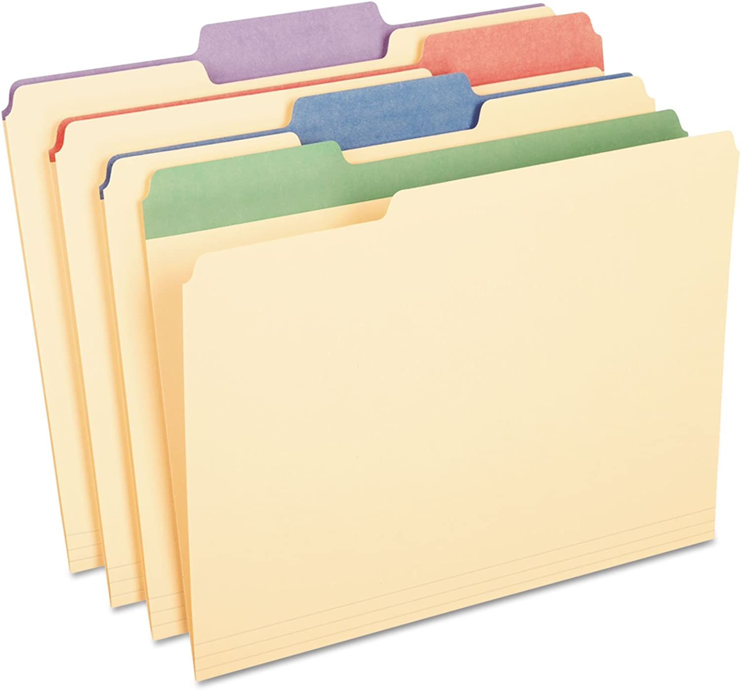 Pendaflex 1 3 Cut 3 4-Inch Letter Manila File File File Folders with Assorted Farbe Tabs, (PFX84100) by Pendaflex B00GPRPXYA   Outlet Store  ae0028