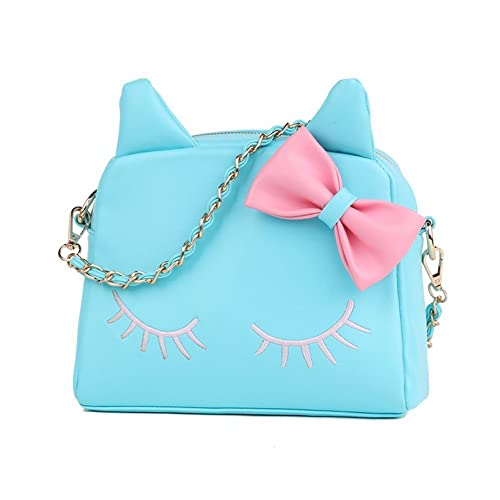 abe86841566 Women Bag,New Design Fashion Girls Cute PU Leather Cat Messenger Tote  Shoulder Bag