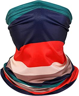 Neck Gaiter Summer Face Cover Magic Scarf Bandana for Fishing, Hiking, Running, Motorcycling