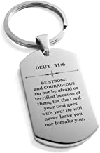 be strong and courageous deuteronomy 31 6