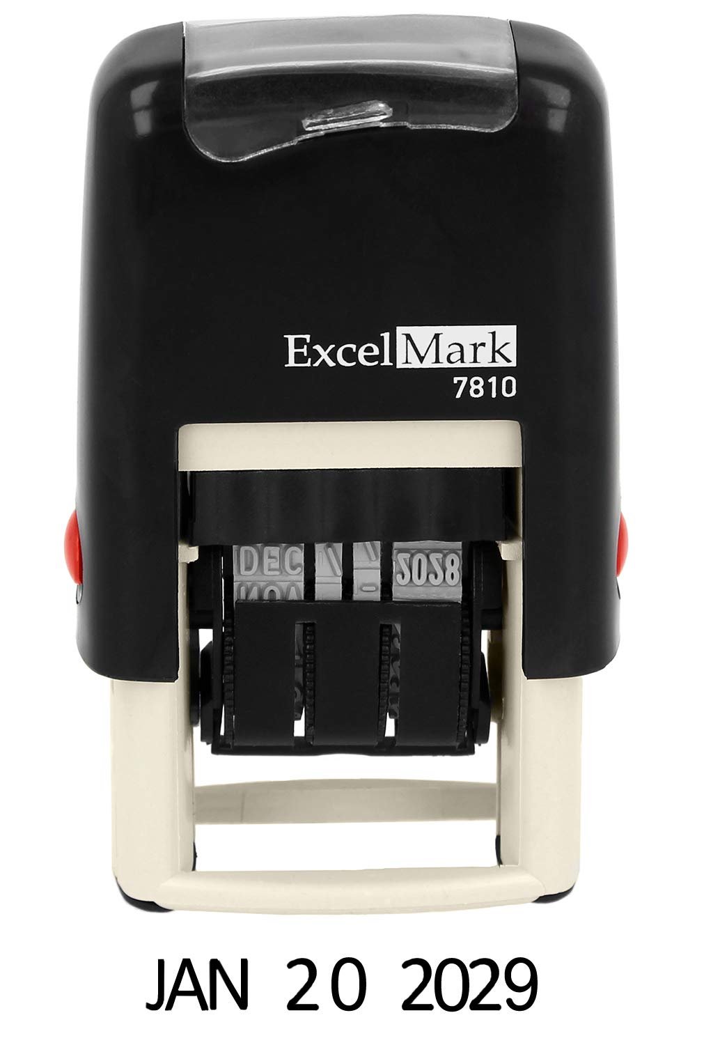 ExcelMark 7810 Self Inking Rubber Stamp