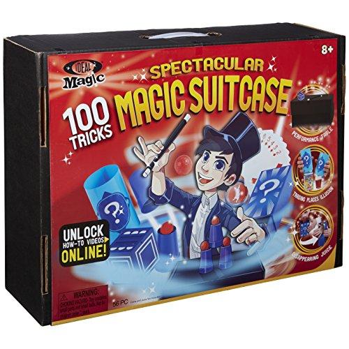 Ideal Magic Spectacular Magic Suitcase 100 Tricks Kids Magic Set