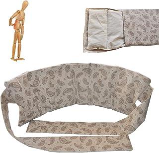 """Cintura lombare termica """"Biancheria"""" di lische di ciliegio 1kg– 60x21 cm – per lombare e mal di schiena – copertura lavabi..."""