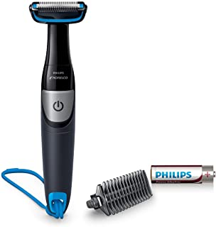 Philips Norelco Bodygroom Series 1100, BG1026/60, Showerproof Body Hair Trimmer and Groomer for Men