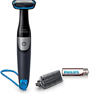 Philips Norelco BG1026/60, Bodygroom Series 1100,  Showerproof Body Hair Trimmer and Groomer for Men