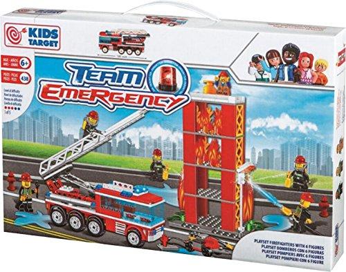RSTA Pompieri Set Costruzioni Pz438 - Costruzioni