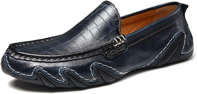 GoldT1 Mann Driving Loafer Casual OX Leder Weiche Sohle Atmungsaktiv Slip On Boat Mokassins Männer Formale Klassische Bequeme Business Schuhe  | Bekannt für seine gute Qualität