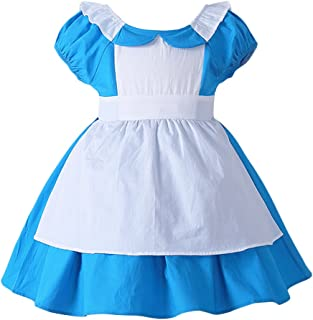 Little Girl Princess Costume Snow White Ariel Mermaid Minnie Dress Cartoon Fancy Birthday Party Tutu Dress up Gown