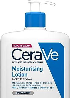 CeraVe Fuktkräm | 1 L | Daglig ansikts- och kroppfuktkräm för torr till mycket torr hud