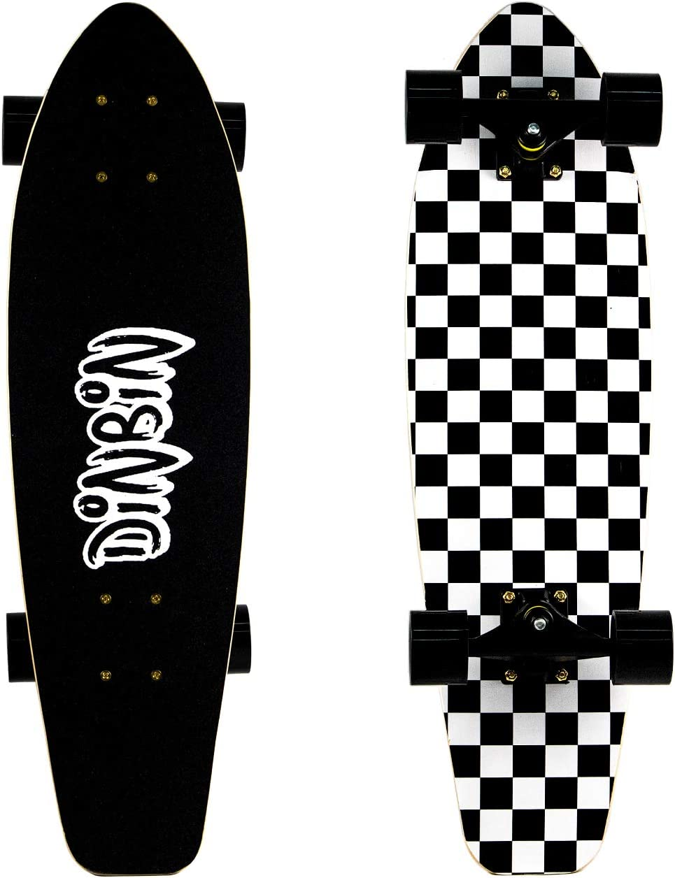 2021 spring and summer new DINBIN Cruiser Skateboard Complete Highly Layer Canadian 7 Maple trust