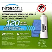 Thermacell Mosquito Area Repellent Refills, 120 Hours (Not Compatible with Radius Zone Device)