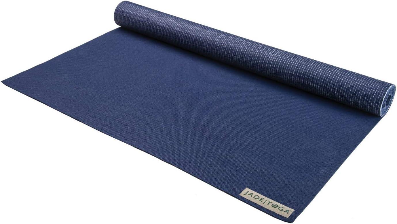 Jade Yoga - Voyager Yoga Mat (68 Inch) (Midnight Blue)