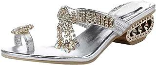 Dear Time Rhinestone Flip Flops Open Toe Summer Women Slippers