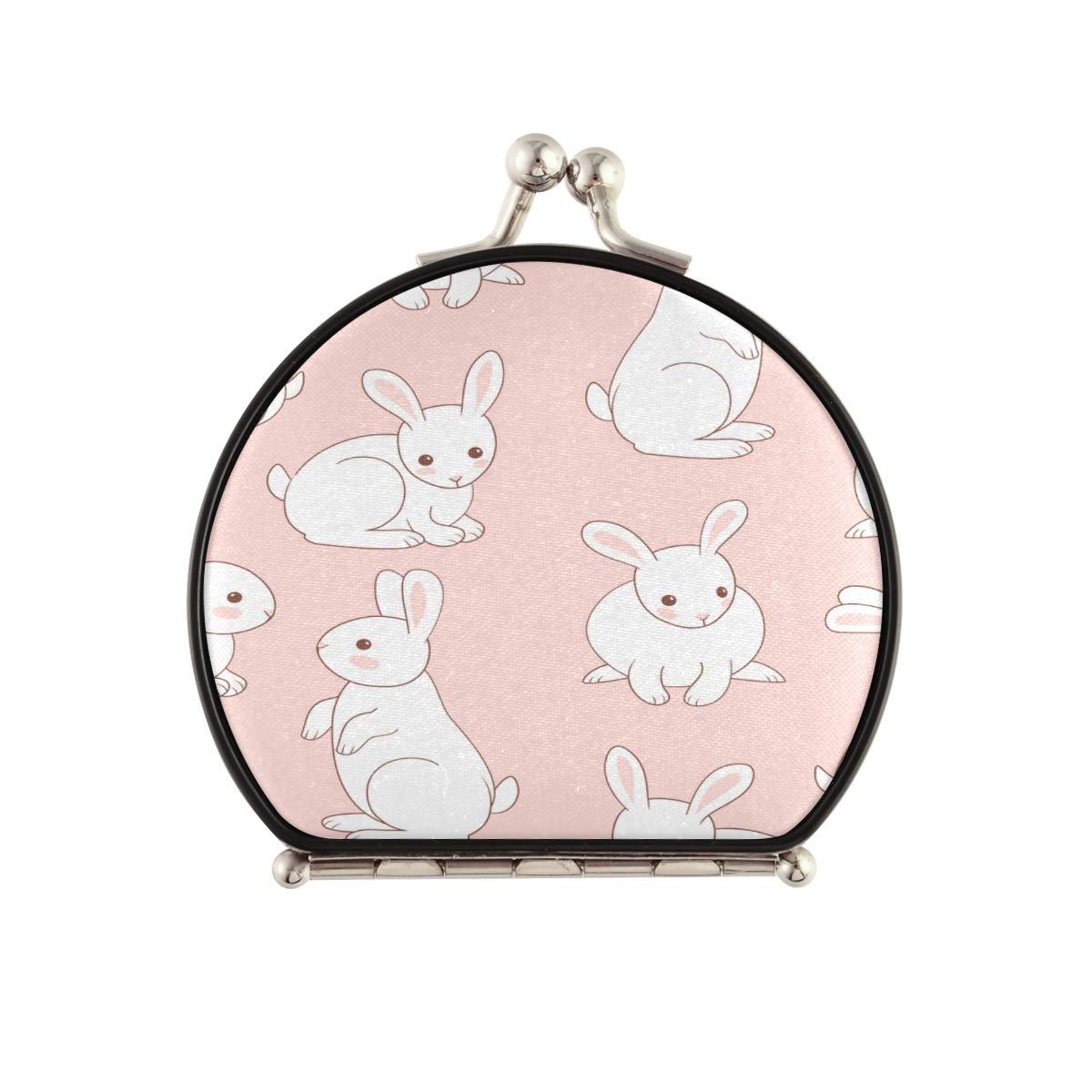 DoubleSidedMakeupMirror White Funny Cute Pet Ranking TOP5 High quality Rabbit Co Animal