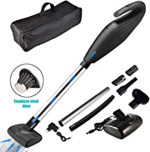 ACUMSTE Handheld Vacuum Cordless, 7-in-1 Versatility 120W High Power 6000 pa Stronger Suction Portable Auto Vacuum Cleaner, Rechargeable Dustbuster Home/Car Light Weight Wet/Dry Shop Vacuum