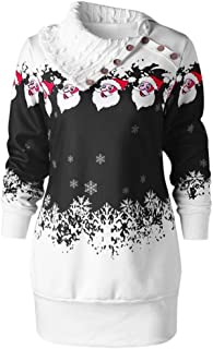 Best womens santa christmas jumper dress Reviews