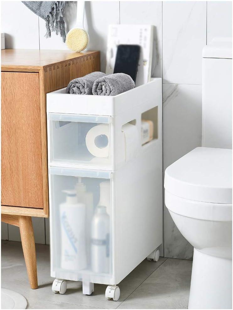 Transparent Storage Cabinet Narrow Drawer w Box SeamStorage Max 74% OFF Slot Don't miss the campaign