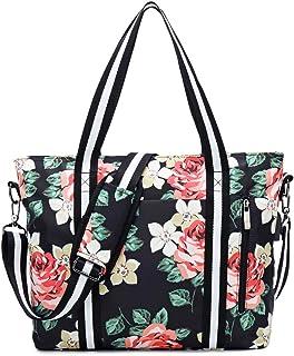 Laptop Tote Bag for Women 17.3 RFID Work Handbag Duffel Girls Travel Fits Notebook, MacBook