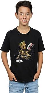 Marvel Niños Guardians of The Galaxy Groot Tape Camiseta