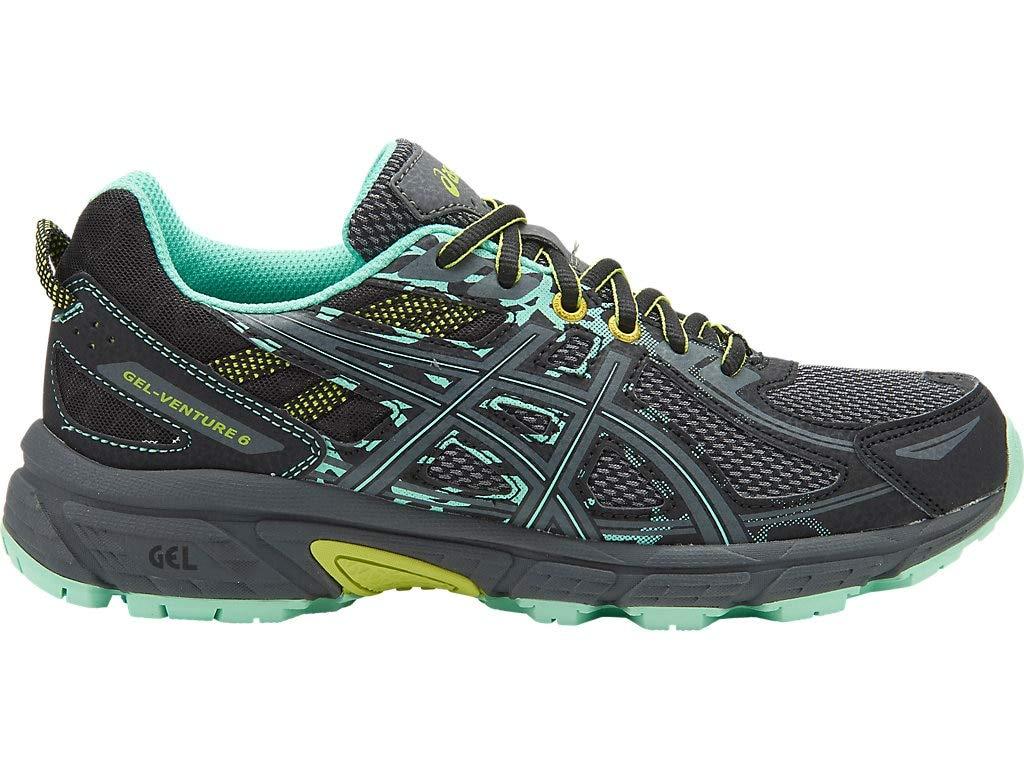 ASICS Womens Gel Venture Running Shoes Carbon