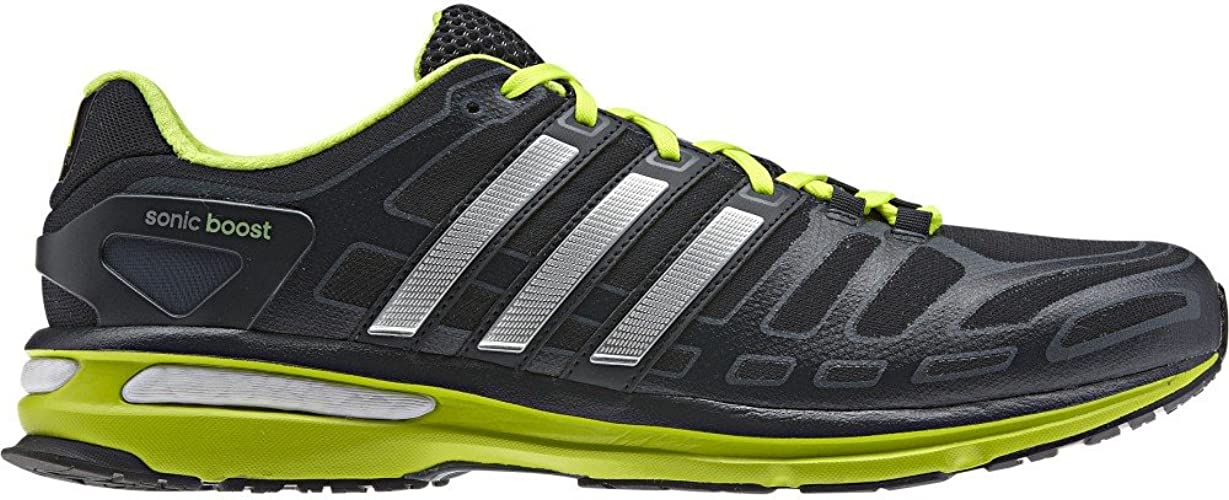 Amazon.com | adidas Men's Sonic Boost Trainers Grey Synthetic and ...