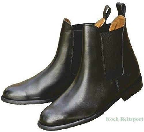 Eurori Ding Ding GmbH & Co. KG bottes d'équitation EP-glattl, STB Semelle Noir  magasin en ligne