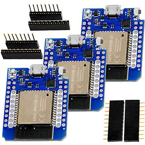 XTVTX NodeMCU ESP32 ESP-WROOM-32 WLAN WLAN Bluetooth IoT Entwicklungsplatine 5 V kompatibel für Arduino