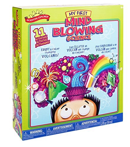 Scientific Explorer My First Mind Blowing Science Kids Science Experiment Kit
