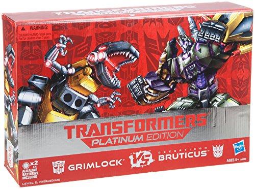 Transformers Generations Fall Of Cybertron Platinum Edition Grimlock Vs Bruticus